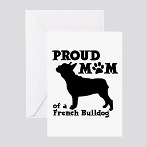 Frenchie Mom Greeting Cards (Pk of 10)