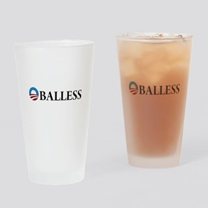 Obama Oballess Drinking Glass