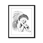 Fallen Angel Framed Panel Print