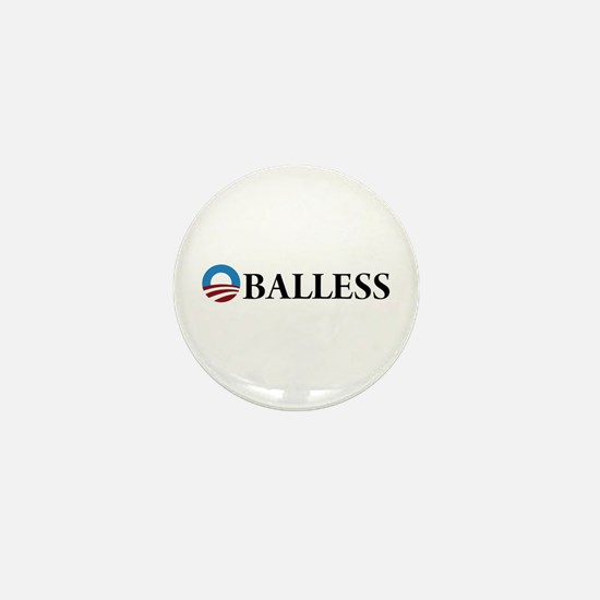 Obama Oballess Mini Button (10 pack)