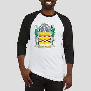 Da-Ca Coat of Arms (Family Crest) Baseball Jersey