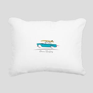 Ford Thunderbird Gone Su Rectangular Canvas Pillow