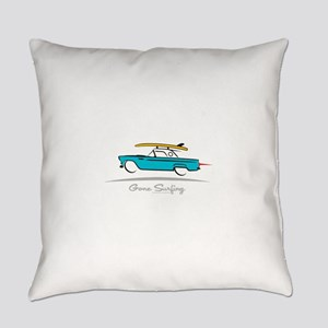 Ford Thunderbird Gone Surfing Everyday Pillow