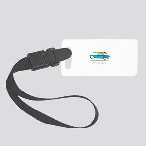 Ford Thunderbird Gone Surfing Small Luggage Tag