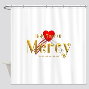 Holy Year of Mercy Shower Curtain