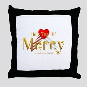 Holy Year of Mercy Throw Pillow