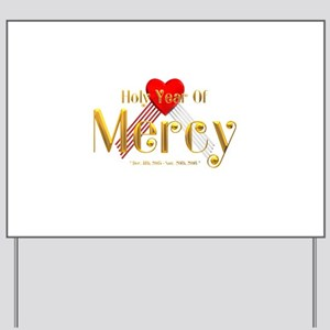 Holy Year of Mercy Yard Sign