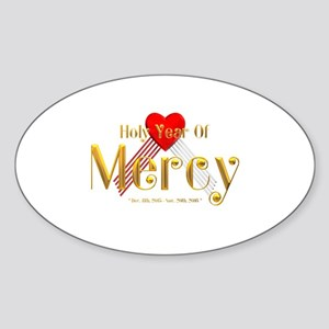 Holy Year of Mercy Sticker (Oval)
