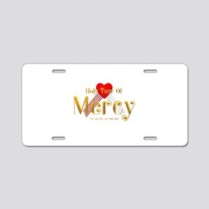 Holy Year of Mercy Aluminum License Plate