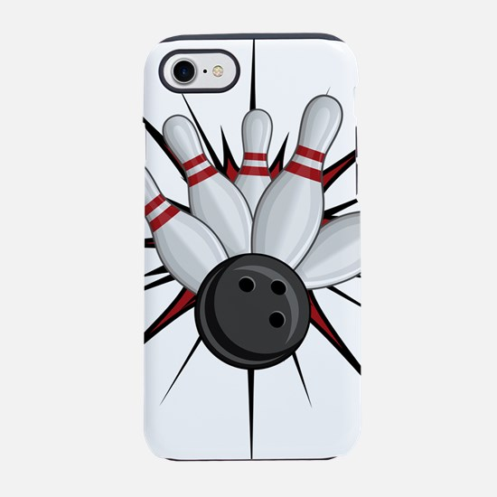 Bowling Strike iPhone 8/7 Tough Case