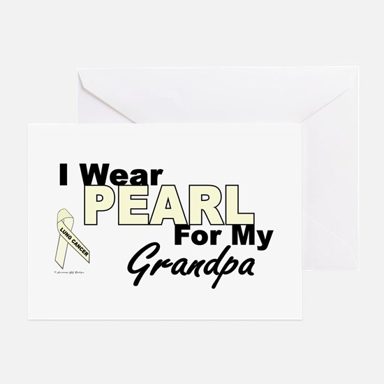 I Wear Pearl 3 (Grandpa LC) Greeting Card