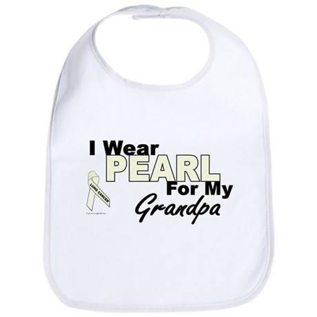I Wear Pearl 3 (Grandpa LC) Bib