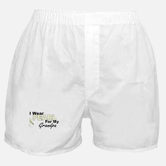 I Wear Pearl 3 (Grandpa LC) Boxer Shorts