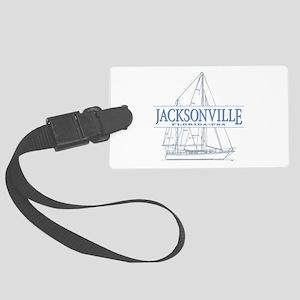 Jacksonville Florida Large Luggage Tag