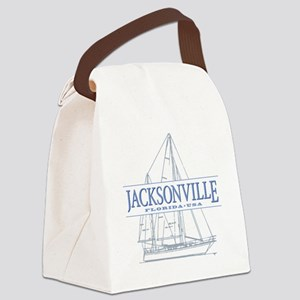 Jacksonville Florida Canvas Lunch Bag