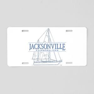 Jacksonville Florida Aluminum License Plate