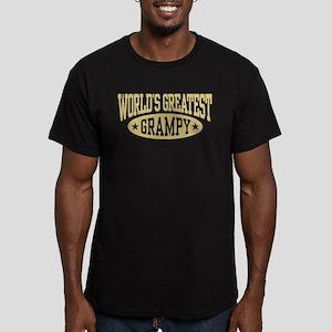 World's Greatest Gramp Men's Fitted T-Shirt (dark)