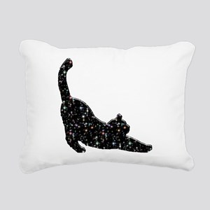 Constellation Cat Rectangular Canvas Pillow