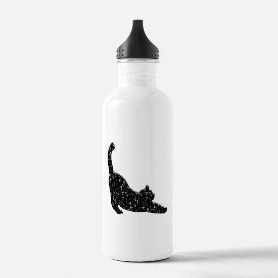 Constellation Cat Water Bottle