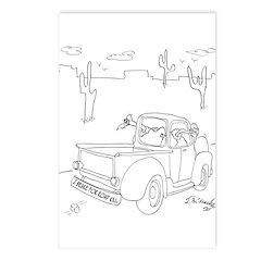 Vulture Cartoon 9281 Postcards (Package of 8)