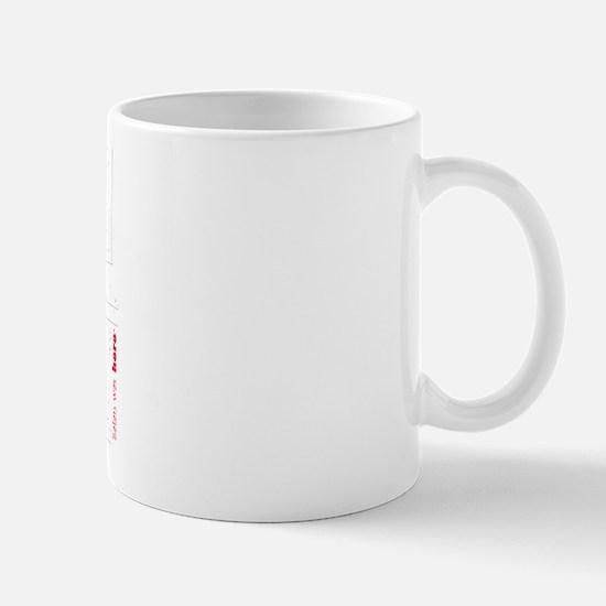 Satan Was Here Mug