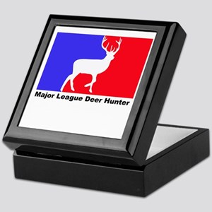 major league deer hunter Keepsake Box