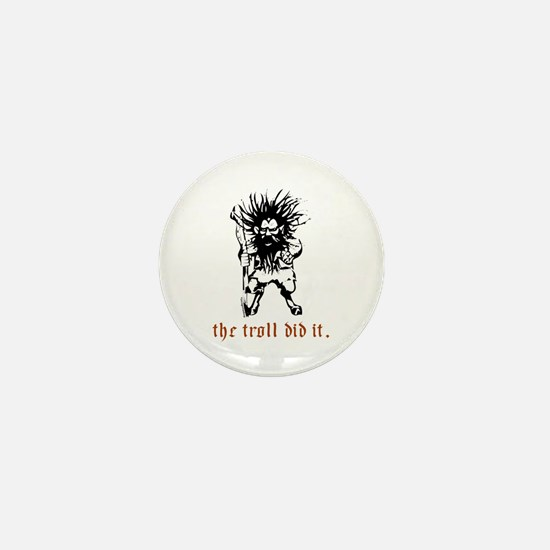 Troll Mini Button
