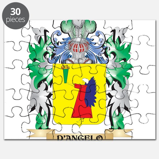 D'Angelo Coat of Arms (Family Crest) Puzzle