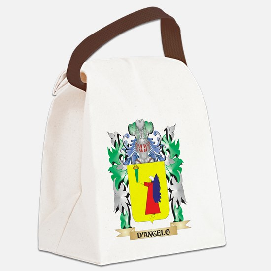 D'Angelo Coat of Arms (Family Cre Canvas Lunch Bag