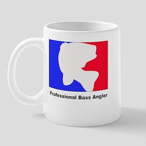 Professional bass angler Mug