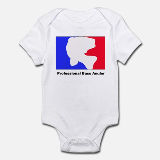 Professional bass angler Infant Bodysuit