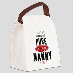 100 percent pure super nanny Canvas Lunch Bag
