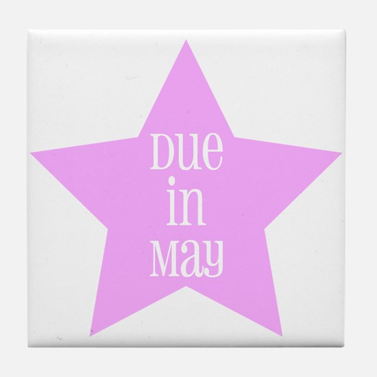 Due in May - Girl Tile Coaster