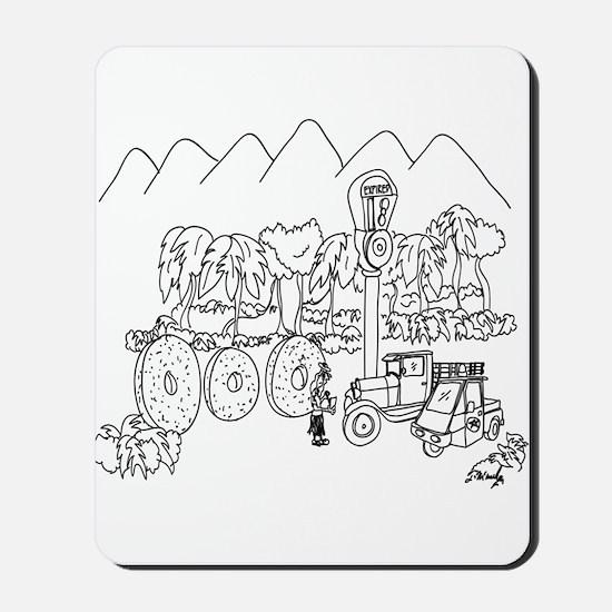Parking Cartoon 9303 Mousepad