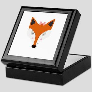 Fox female Keepsake Box
