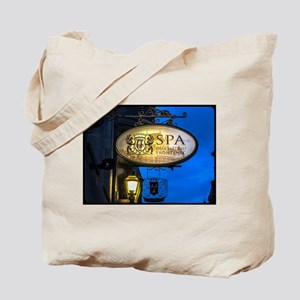 Spa Time Tote Bag