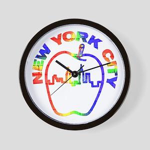 New York City 2 - Wall Clock