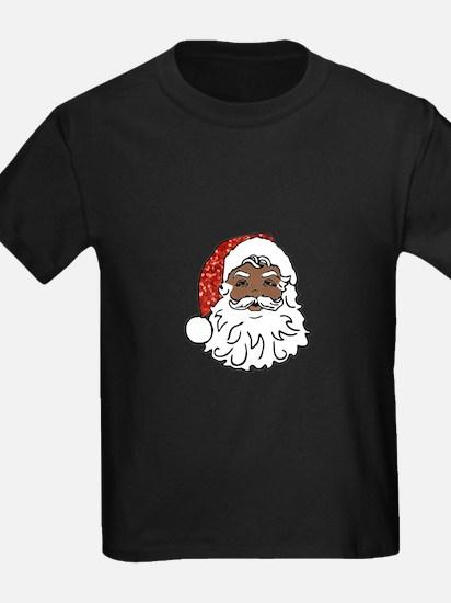 black santa claus T-Shirt