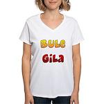 Bule Gila Women's V-Neck T-Shirt