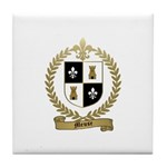 MEUSE Family Crest Tile Coaster