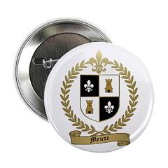 MEUSE Family Crest Button