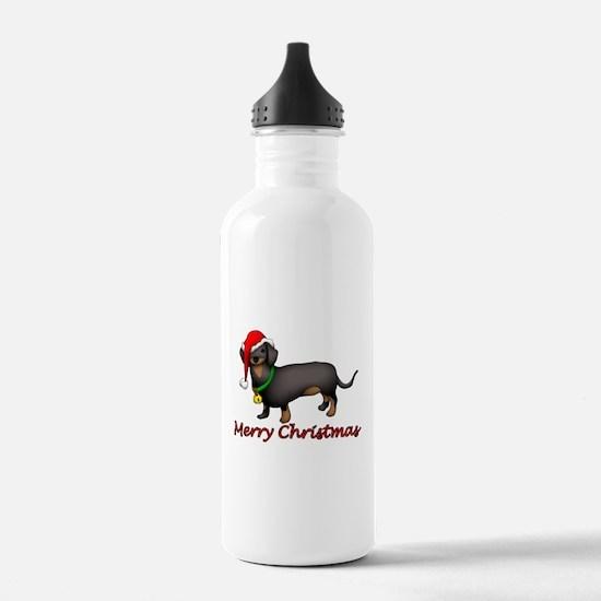 Dachshund Art Water Bottle