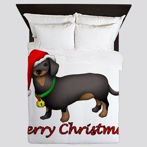 Dachshund Art Queen Duvet
