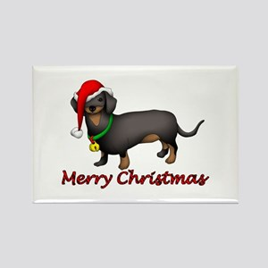 Dachshund Art Rectangle Magnet