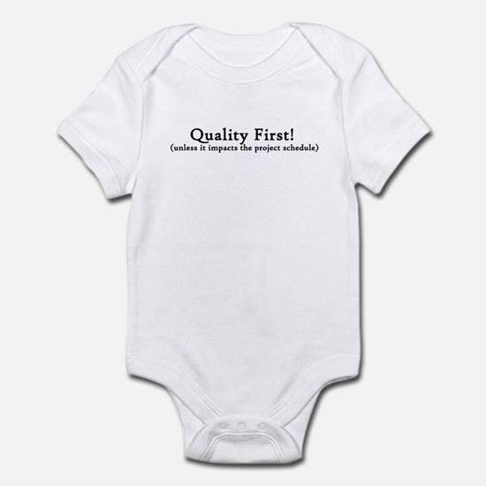 Quality First! Body Suit