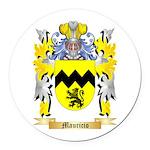 Mauricio Round Car Magnet