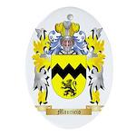 Mauricio Oval Ornament