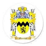 Mauricet Round Car Magnet