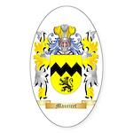 Mauricet Sticker (Oval 10 pk)