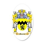 Maurice Oval Car Magnet